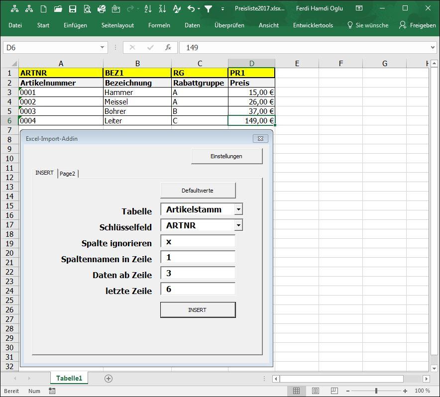 SQL-Importer | How2VBA.de